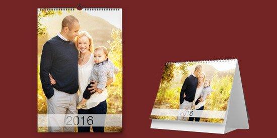 Печать календарей с фотографиями