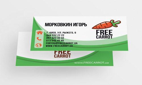 Недорогие визитки Киев Подол