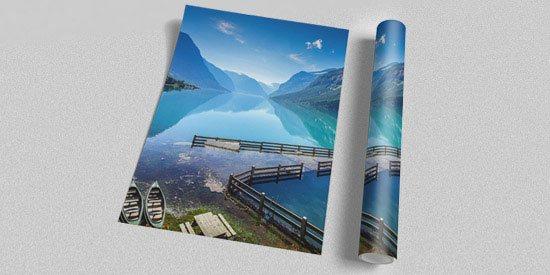 Широкоформатная печать плакатов, афиш, чертежей, фотографий