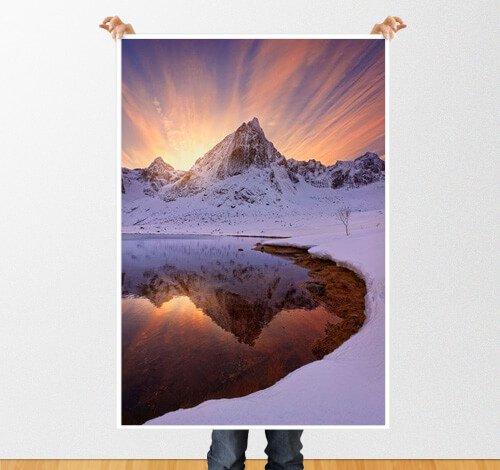 Печать фотографий А2, А1, А0 на матовой и глянцевой бумаге. Киев Подол. Срочно