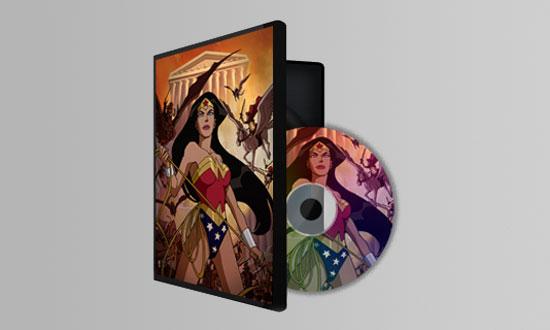 Печать на дисках DVD
